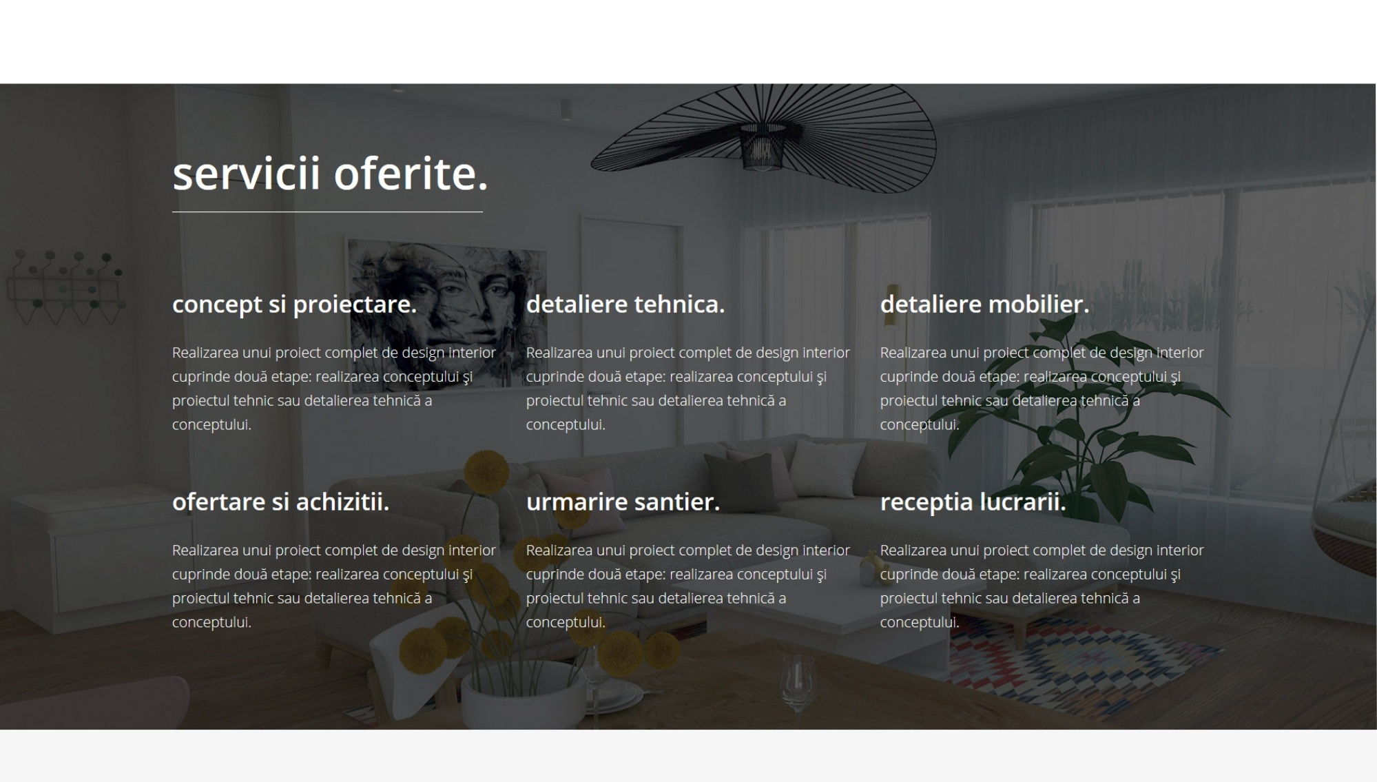 servicii site web