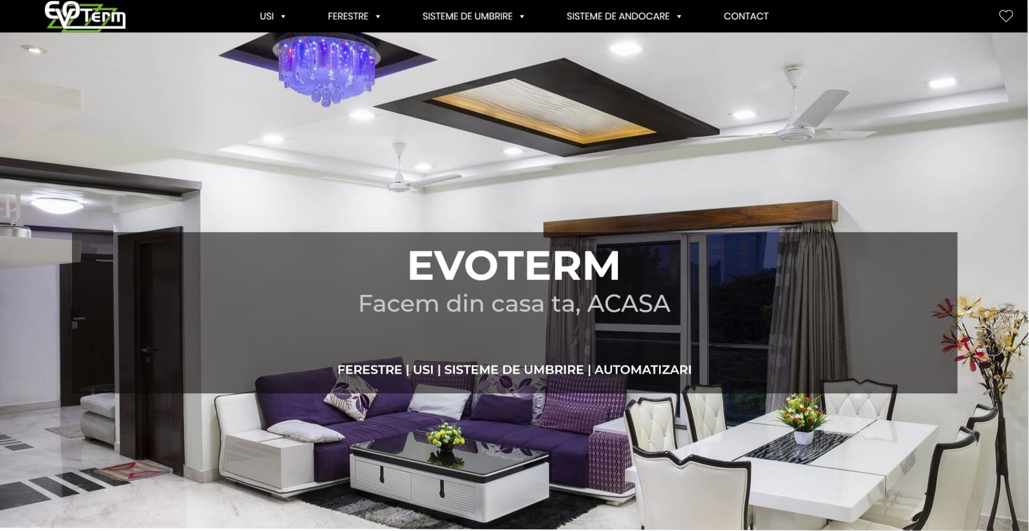 site web catalog produse